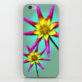 Bracken Astra Dahlia iPhone Skin