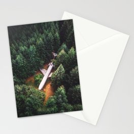End of the journey Stationery Cards