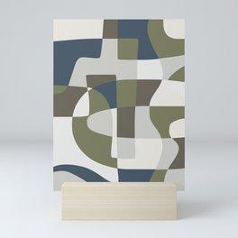 Scandinavian abstract palette pattern Mini Art Print