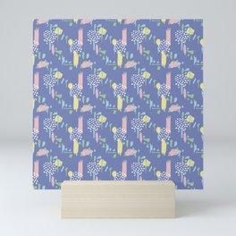 Menphis shapes Mini Art Print