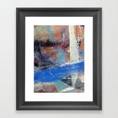 Paint table 2 Framed Art Print