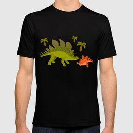 Dinos - Mom and baby T-shirt