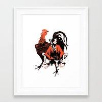 samurai champloo Framed Art Prints featuring samurai champloo by Colioni