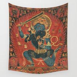 Achala Manjushree Vishvavajri Buddhist Tantra Wall Tapestry
