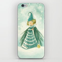 Goblins Drool, Fairies Rule! - Snowflake Shelly iPhone Skin