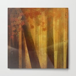 warm trees, summer breeze Metal Print