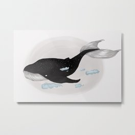 Gentle Giant (Whale Dreams) Metal Print