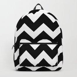 Chevron Black & White Backpack
