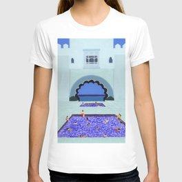 Scallop pool T-shirt