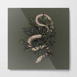 Le Serpent et l'Absinthe Metal Print