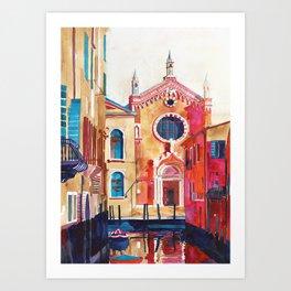 Chiesa della Madonna dell'Orto, Venice Art Print