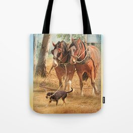If You Want The Job Done Tote Bag