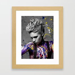 Splatter Framed Art Print