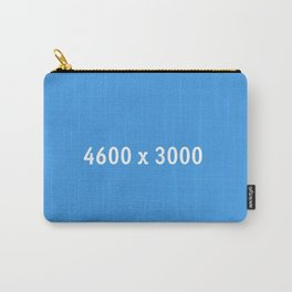 3000x2400 Placeholder Image Artwork (Dropbox Blue) Carry-All Pouch