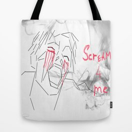 Scream4ME Tote Bag