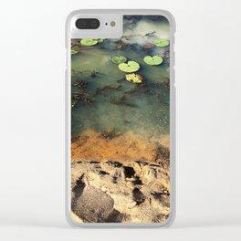 Nenuphar Clear iPhone Case