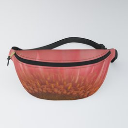 Pastel Pink and Yellow Daisy Center Fanny Pack