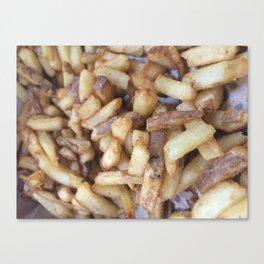 Five Guys Fries Canvas Print