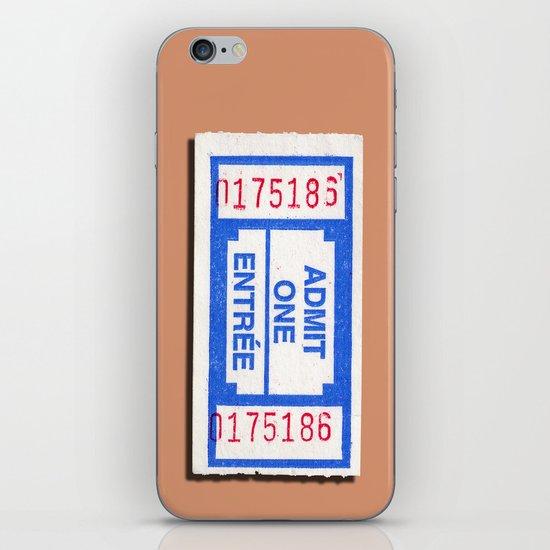 Admit 2 please iPhone & iPod Skin