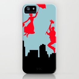 Blue Mary Poppins iPhone Case