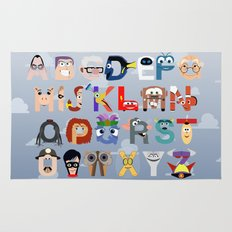 P is for Pixar (Pixar Alphabet) Rug