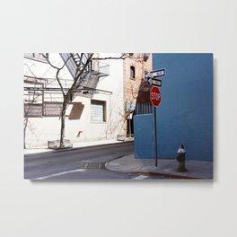 Colorful Street, Greenwich Village NYC Metal Print