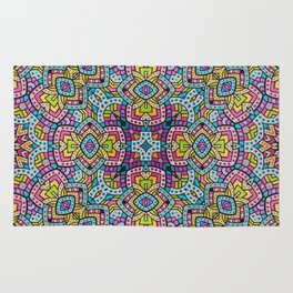 Persian kaleidoscopic Mosaic G515 Rug