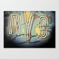 nyc Canvas Prints featuring NYC  by Phil Provencio