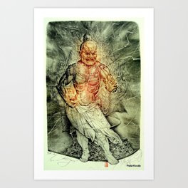 Agyoo Art Print