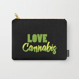 Love Cannabis   Smoke Weed 420 Gift Ideas Carry-All Pouch