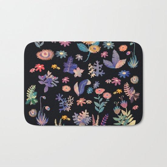 color garden!! Bath Mat