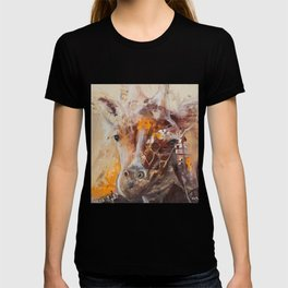 "Giraffe - Animal - ""Presence"" by LiliFlore T-shirt"