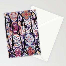 Azulejos Portugal sardine Stationery Cards