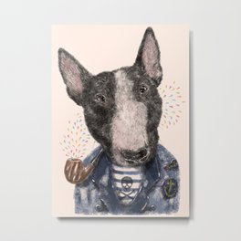 Mr.Bullblack Metal Print
