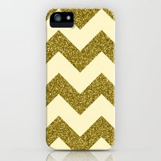 Chevron Gold Slim Case iPhone (5, 5s)