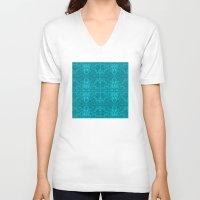 happy birthday V-neck T-shirts featuring Happy Birthday by Masonjohnson