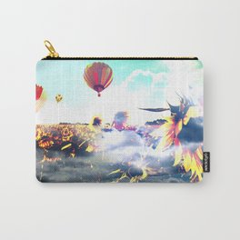 Sunflowers and Clouds Carry-All Pouch