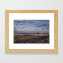 Grain Elevator 21 Framed Art Print
