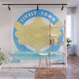 Lively Town Expedition Society Wall Mural