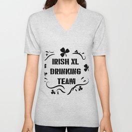 Irish Drinking Team Funny ST. Patrick Day Unisex V-Neck