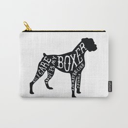 I Only Care About My Boxer.. Carry-All Pouch