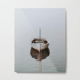 boat / maldives Metal Print