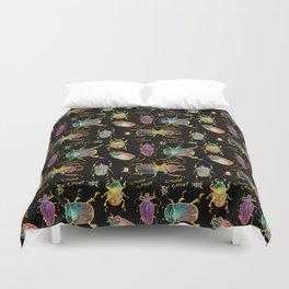 Beetle chomp Duvet Cover