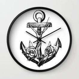 Anchor of hope. Wall Clock
