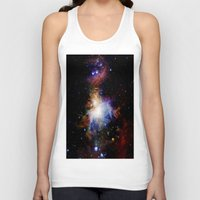 nebula Tank Tops featuring Orion NebulA Colorful Full Image by 2sweet4words Designs