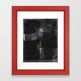 Baronial Indigene No. 3: Ephemera Framed Art Print
