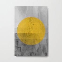 Modern Geometric III Metal Print