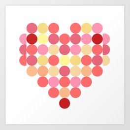 Circles of Love Art Print