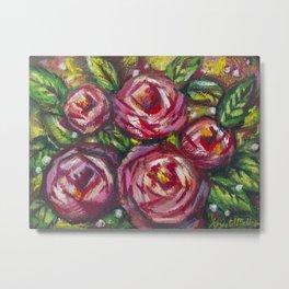 Ruby Roses Metal Print