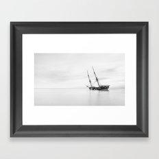 Galeón Framed Art Print